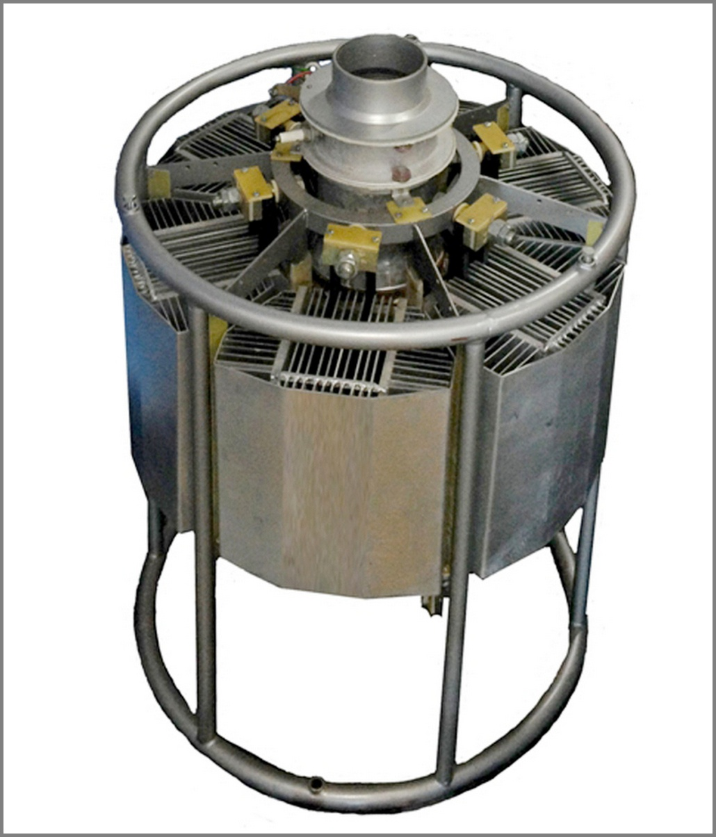 Термоэлектрический генератор ГТГ-150 для автономного электропитания на газопроводах